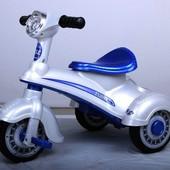 Детский мотоцикл мотороллер T-711 RED