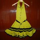 Шикарные новые модные  платья оливкового цвета, размер 44- 48