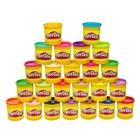 Play-Doh 24-Pack of Colors 24шт баночек по 80грамм