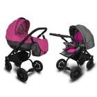 Универсальная коляска Adamex Jogger малиновая/серая (В наличии другие расцветки)