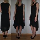 Модное шифоновое платье E-vie размер Л