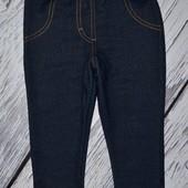 12 - 18 месяцев 86 см Лосины фирменные леггинсы стрейчевые под джинс