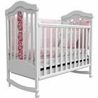 Детская кроватка Верес Соня Лд14 белая (мережка)