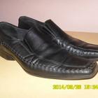 туфли кожаные  СтеппТер 42р. цвет-черный