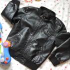 Куртка демисезонная St.BernaRD 8-9л 134-146см экокожа