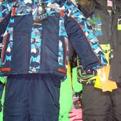 Зимние костюмы на мальчиков и девочек