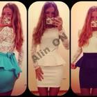Стильное платье гипюр ♥ღ♥~БаскА~♥ღ♥ 3 цвета!