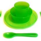 Разноцветные наборы детской посуды Kalas, IKEA