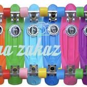 Скейтборд/скейт Penny Board (Пенни борд) Fish: нагрузка до 80кг