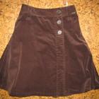Теплая юбка до колена С-ка