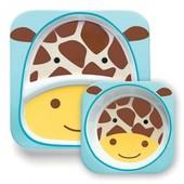 Набор тарелок Skip Hop Жираф, оригинал, лучшая цена