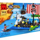 Конструктор детский 302 Брик, Brick пираты