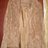 Фирменный пиджак ультрамодной расцветки 48-50