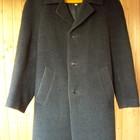 Теплое мужское демисезонное пальто, размер 50.