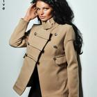 Пальто с погоном на одном плече *2 цвета*