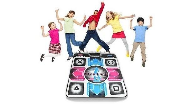 Коврик танцевальный usb pc+tv для детей и взрослых фото №1