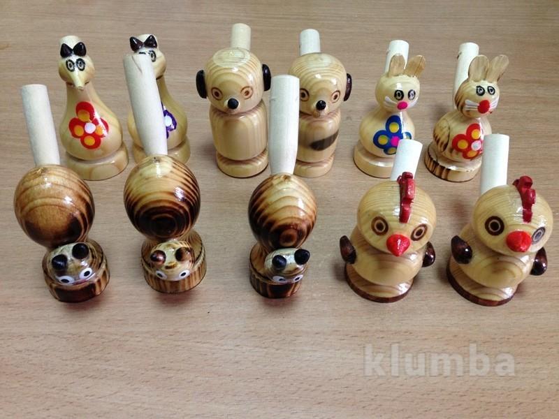 Свистульки деревянные
