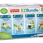 Комплект 4 в 1 это кресло-качель-стульчик, Fisher-Price EZ Bundle 4-in-1