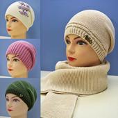 Женские шапки, зима 2015, много расцветок и моделей