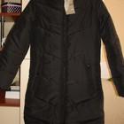 Пальто для девочки новое черное демисезонное размер XS-S