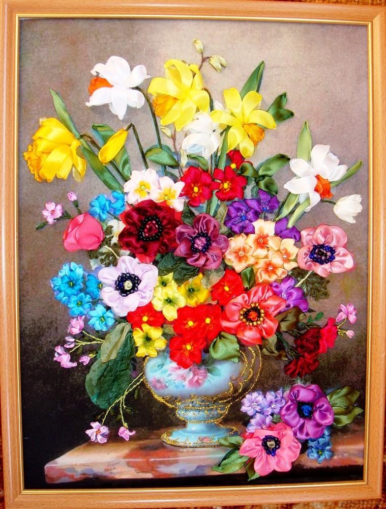 Букет весенних цветов фото №1