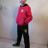 Теплый спортивный костюм для мальчика на рост 134, 140, 146, 152 см