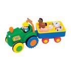 Игровой набор Kiddieland Трактор фермера на колесах, свет, звук