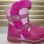 Детские зимние ботинки для девочки тм Calorie