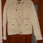 Кожаная замшевая куртка Reserved