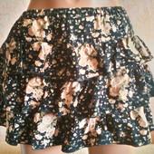Супер юбка из микровельвета р. 40-42