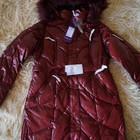Зимнее пуховое пальто, пуховик, женский, новое, опушка-песец, р. 42-44