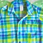 Флисовая рубашечка для мальчика 3- 6 мес.