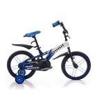 Детский двухколесный велосипед Азимут Райдер Azimut Rider 12,14,16, 18 дюймов синий