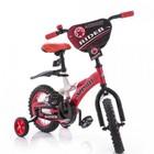 Детский двухколесный велосипед Азимут Райдер Azimut Rider 12, 14,16,18 д красный