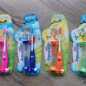 Детская зубная щетка Aquarelle Kids + песочные часы