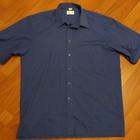 Рубашка синяя
