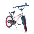 Детский двухколесный велосипед Азимут Файбер Azimut Fiber голубой