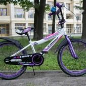 Детский двухколесный велосипед Азимут Файбер Azimut Fiber 12,14,16,18,20 д