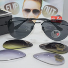 ОЧКИ RAY-BAN Aviator Flip Out Lux