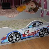 Кровать машина Ралли Формула ✿ Бесплатная Доставка