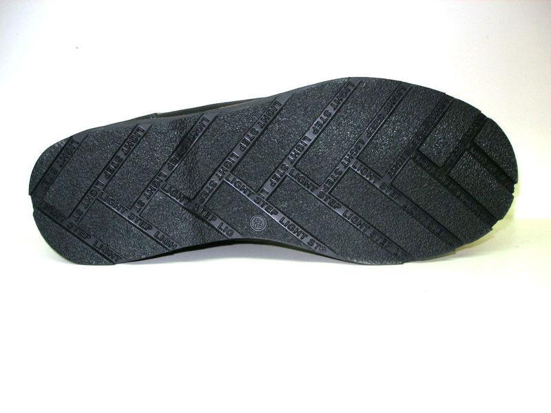 Ботинки columbia натур. кожа на меху, черный и оливк, р 41-45, код ka-col3 фото №8
