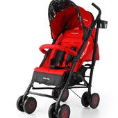 Детская прогулочная коляска Milly Mally Meteor-бампер, чехол для ног, дождевик, корзина для продукто