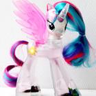 Принцесса Селестия прозрачная My Little Pony Хасбро 14 см
