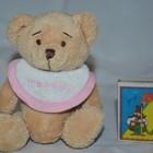 Маленький мишка медвежонок с Надписью это девочка
