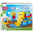 Вкусный сюрприз внутри! Mega Bloks конструктор 120 деталей.