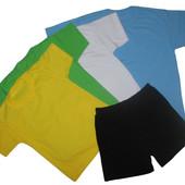 Спортивная форма, шорты черные на рост 100 140 см.,в наличии
