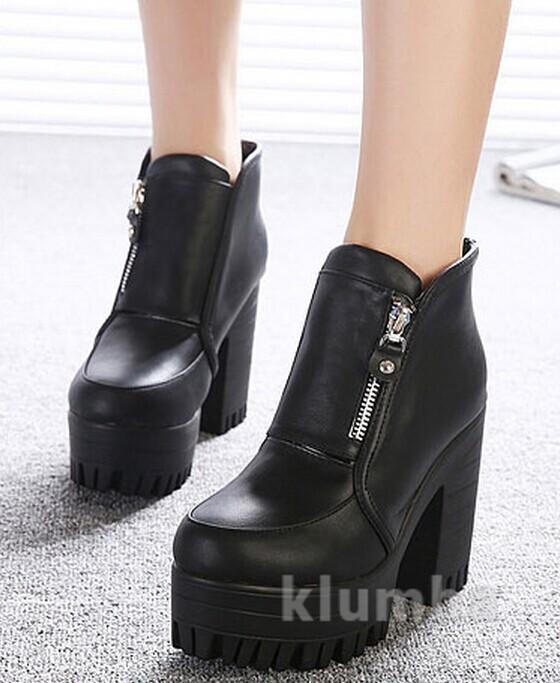 С чем носить обувь на платформе и танкетке: 30 смелых образов Trendy-U
