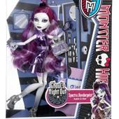 кукла монстер хай Monster High Спектра Вондергейст Ghouls night out ночная вечеринка мостров