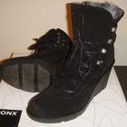 Очень классные добротные ботинки Bronx р. 37