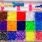Резиночки для плетения  браслетов LOOM BANDS 4200шт+станок